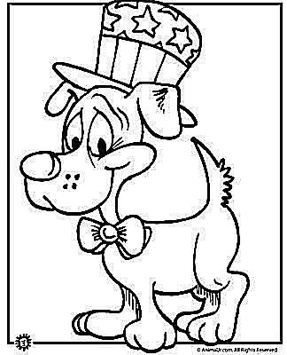 Coloring Pages For Fourth Of July.  Free 4th of July Coloring Pages