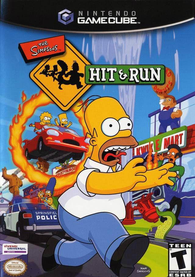 The Simpsons: Hit & Run for Nintendo Gamecube