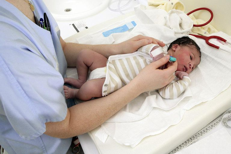 The maternity service of Rouen hospital in France.