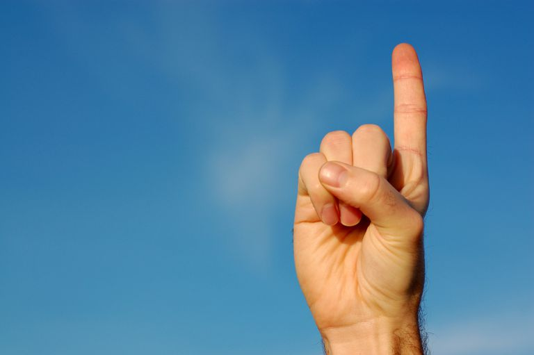 Is Your Finger a Weathervane?