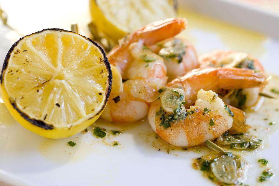Gilroy Garlic Shrimp