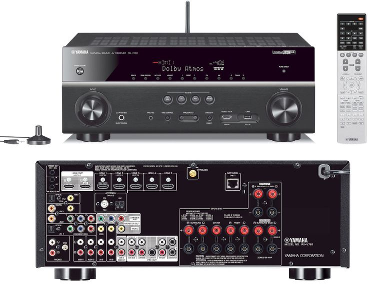Yamaha RX-V781 Home Theater Receiver