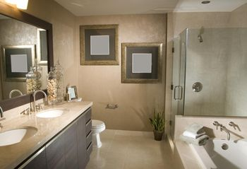 Bathroom Design Basics bathroom remodel cost - minimum and medium level remodels
