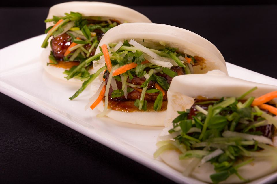 Pork Belly Buns at Public House Las Vegas