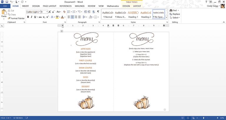 thanksgiving invitation templates free word