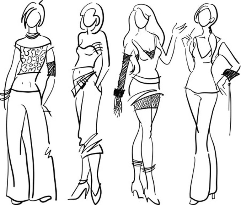 clothing design sketches