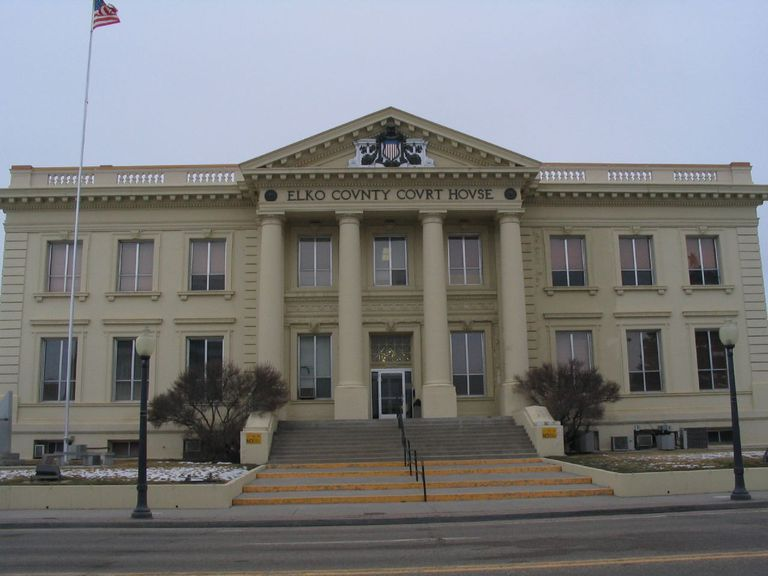 Elko County Courthouse, Elko NV