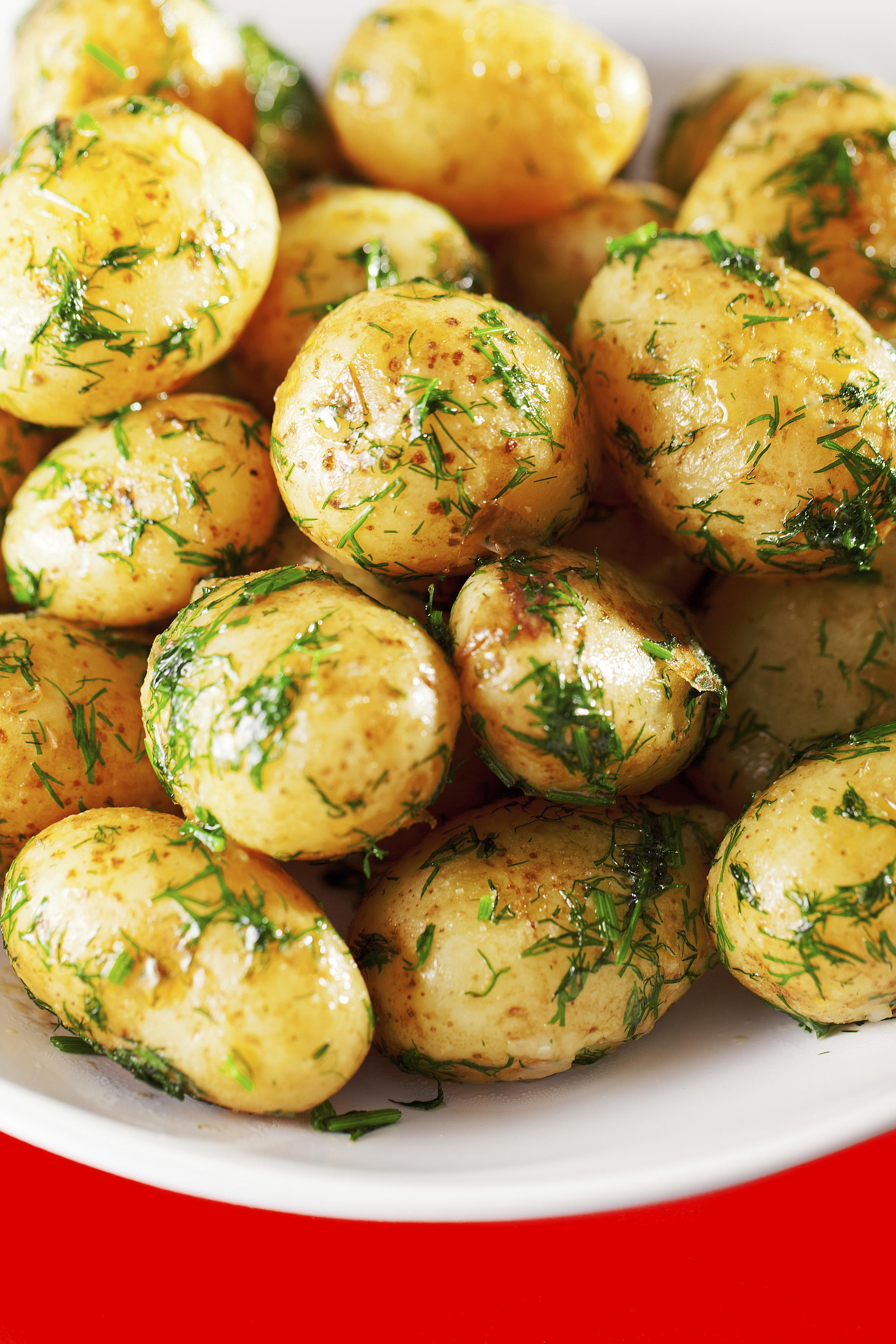 Yummy Dill Potatoes Recipe