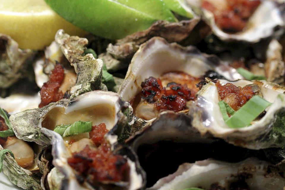 Gourmet oysters kilpatrick.