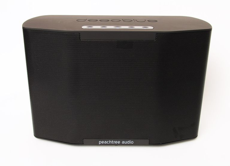 The front of the Peachtree Audio Deepblue2 Bluetooth speaker