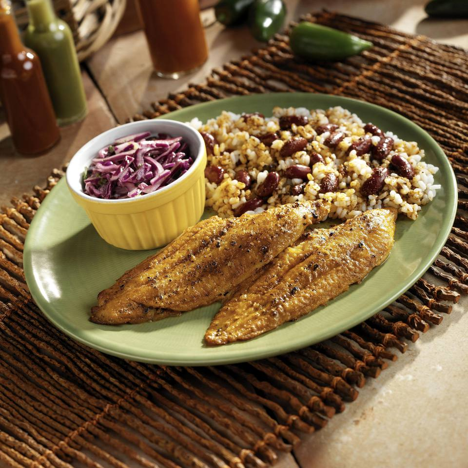 Grilled Catfish with Rosemary-Balsamic Sauce