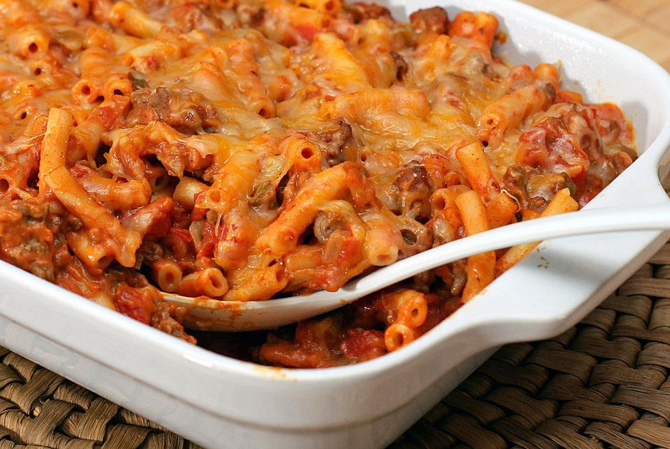 Tex Mex Macaroni and Beef