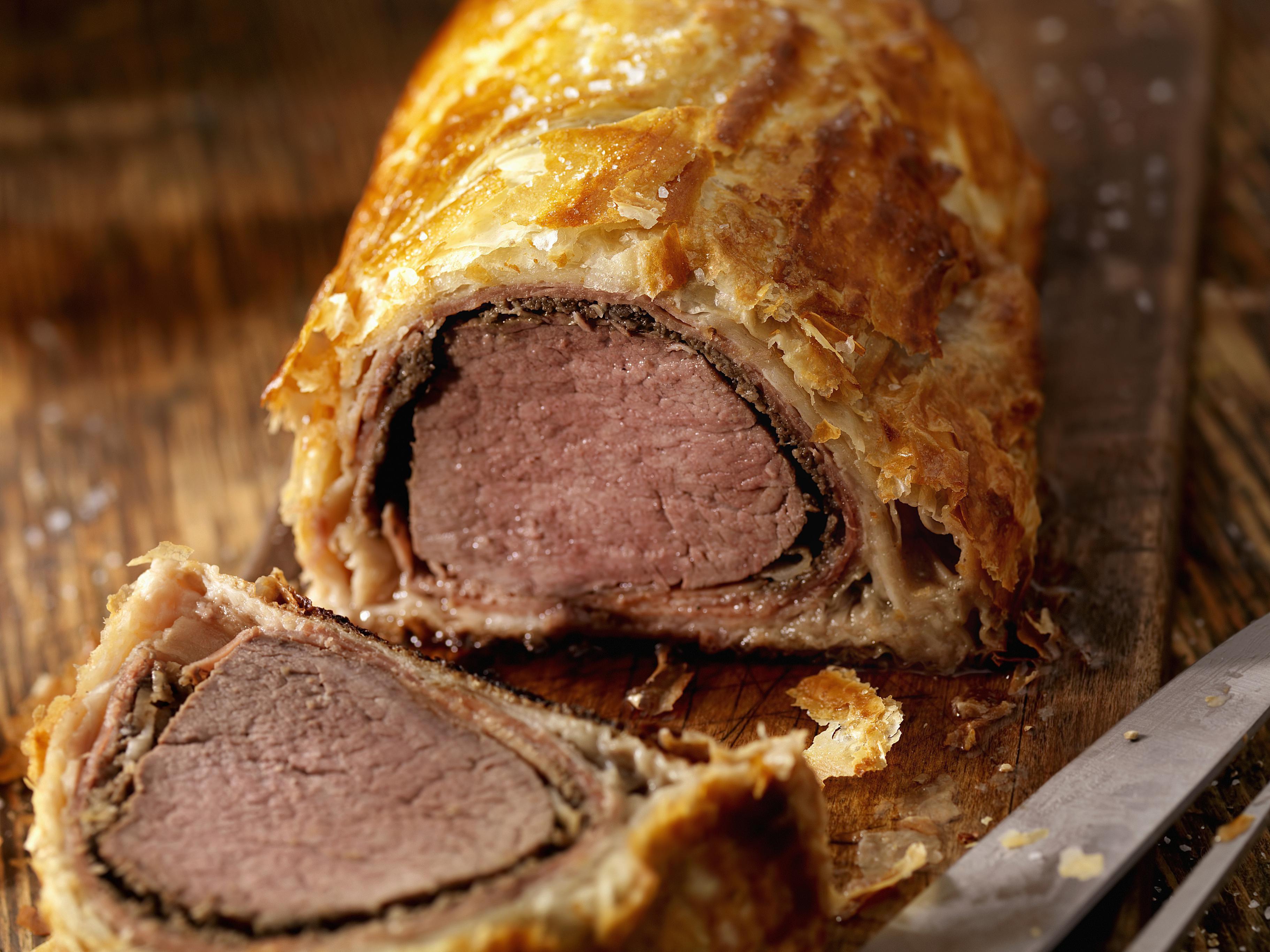 Steak In A Puff Pastry Recipe Aka Beef Wellington