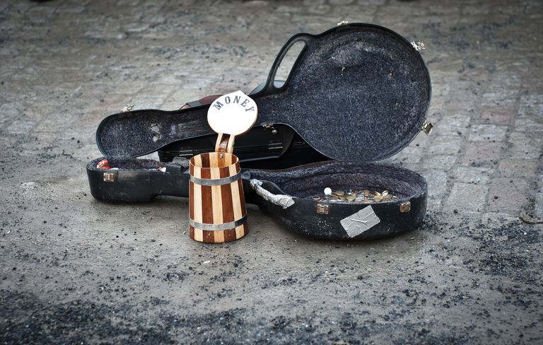Buskers don't Beg. Similar to a Charitable Gift Annuity, They Share Gifts with Hopes of a Return.