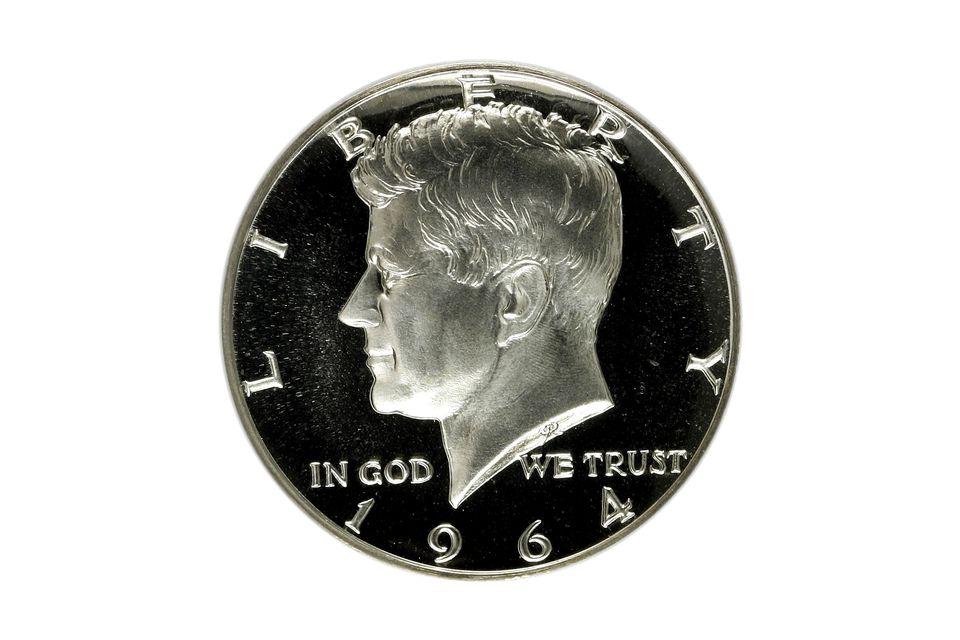 1964 Kennedy Half-Dollar Graded Proof-69 by PCGS