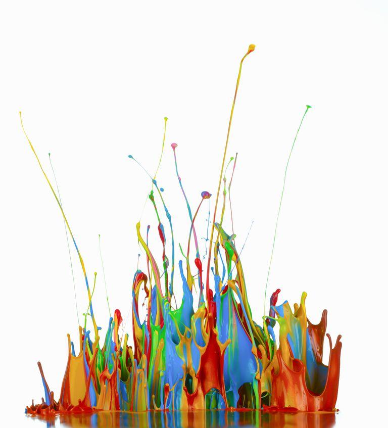 pinturas de color
