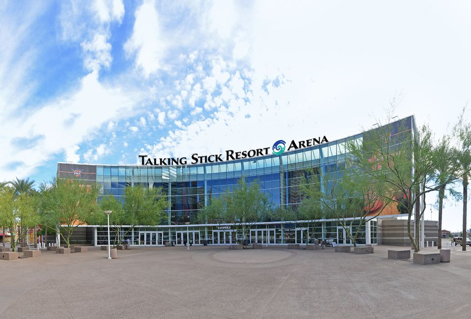 Talking Stick Resort Arena in Downtown Phoenix