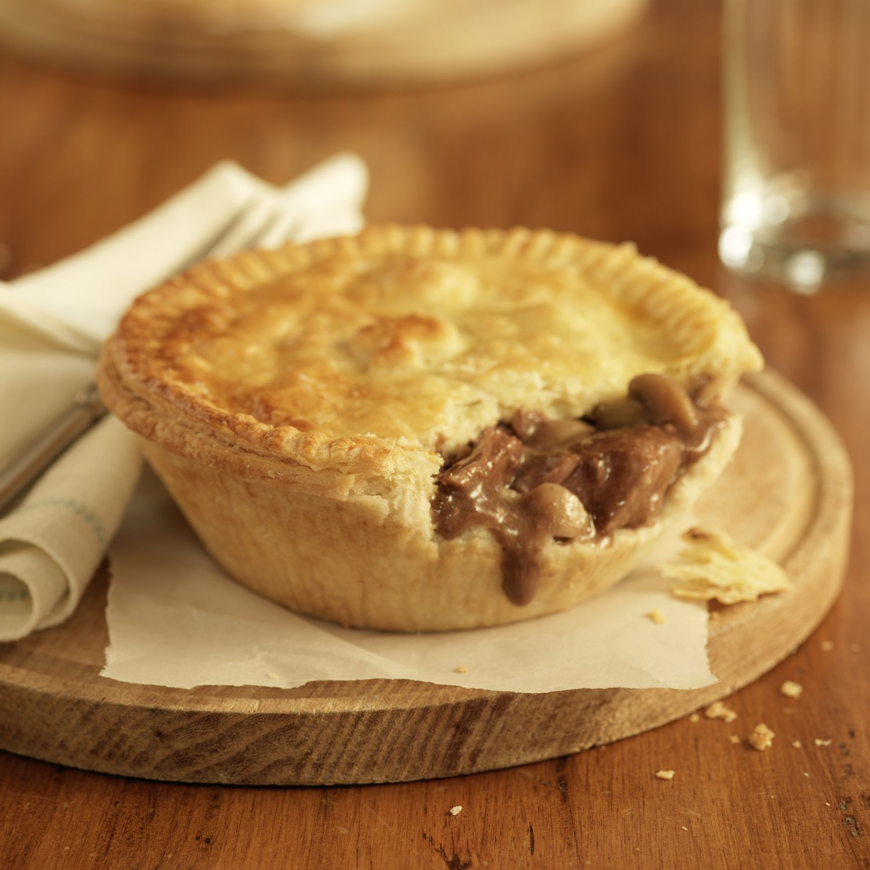 Organizing A Kitchen Meat Pie Recipe With Leftover Roast Beef
