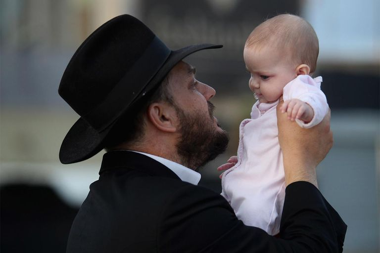 Ultra-Orthodox Jews Perform Tashlich Ceremony