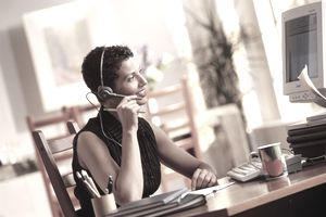 call center home office headset