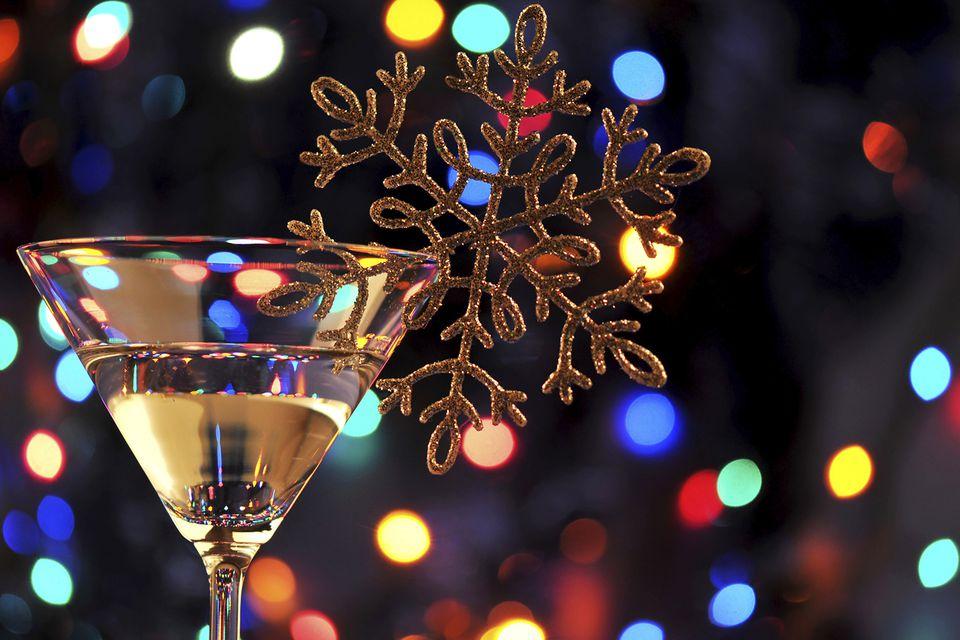 Festive Christmas Martinis
