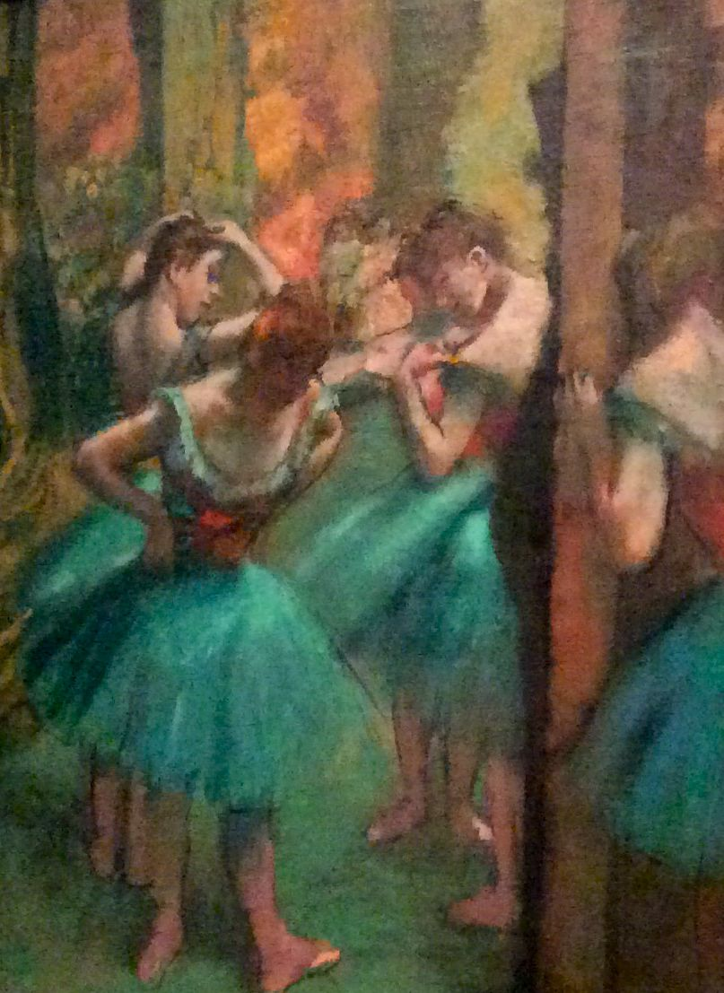 Degas: Dancers, Pink and Green