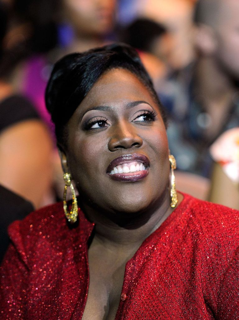 Comedienne Sheryl Underwood in the audience during the ninth annual Ford Hoodie Awards at the Mandalay Bay Events Center