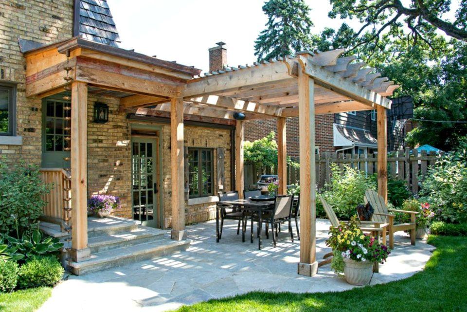 25 Perfect Pergola Design Ideas for Your Garden on Side Yard Pergola Ideas id=22072