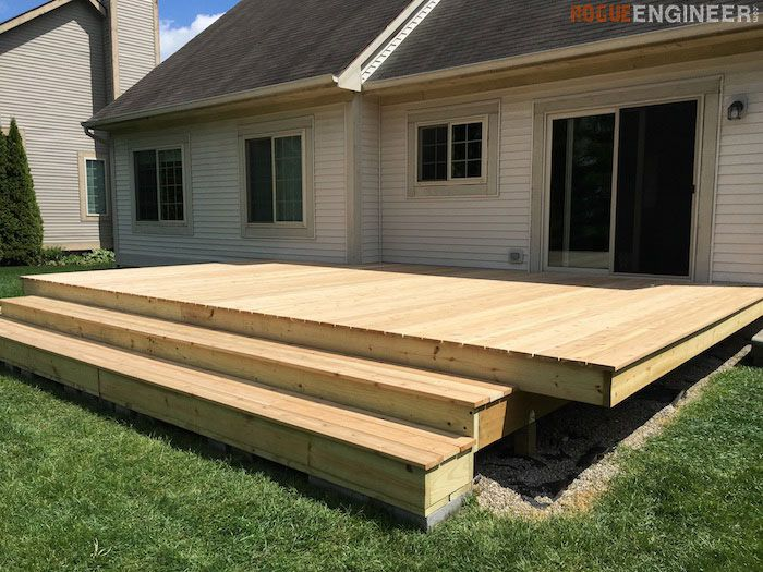 get free do it yourself deck plans - Above Ground Pool Deck Off House