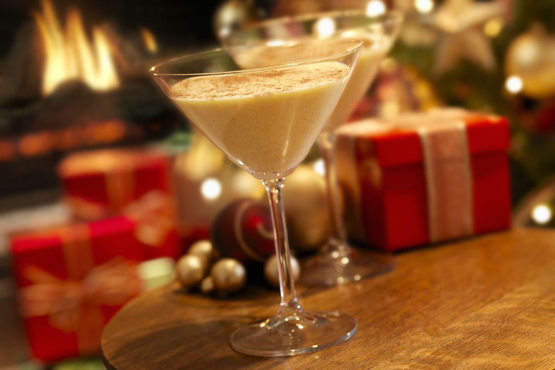 Quick Brandy Eggnog Cocktail Recipe