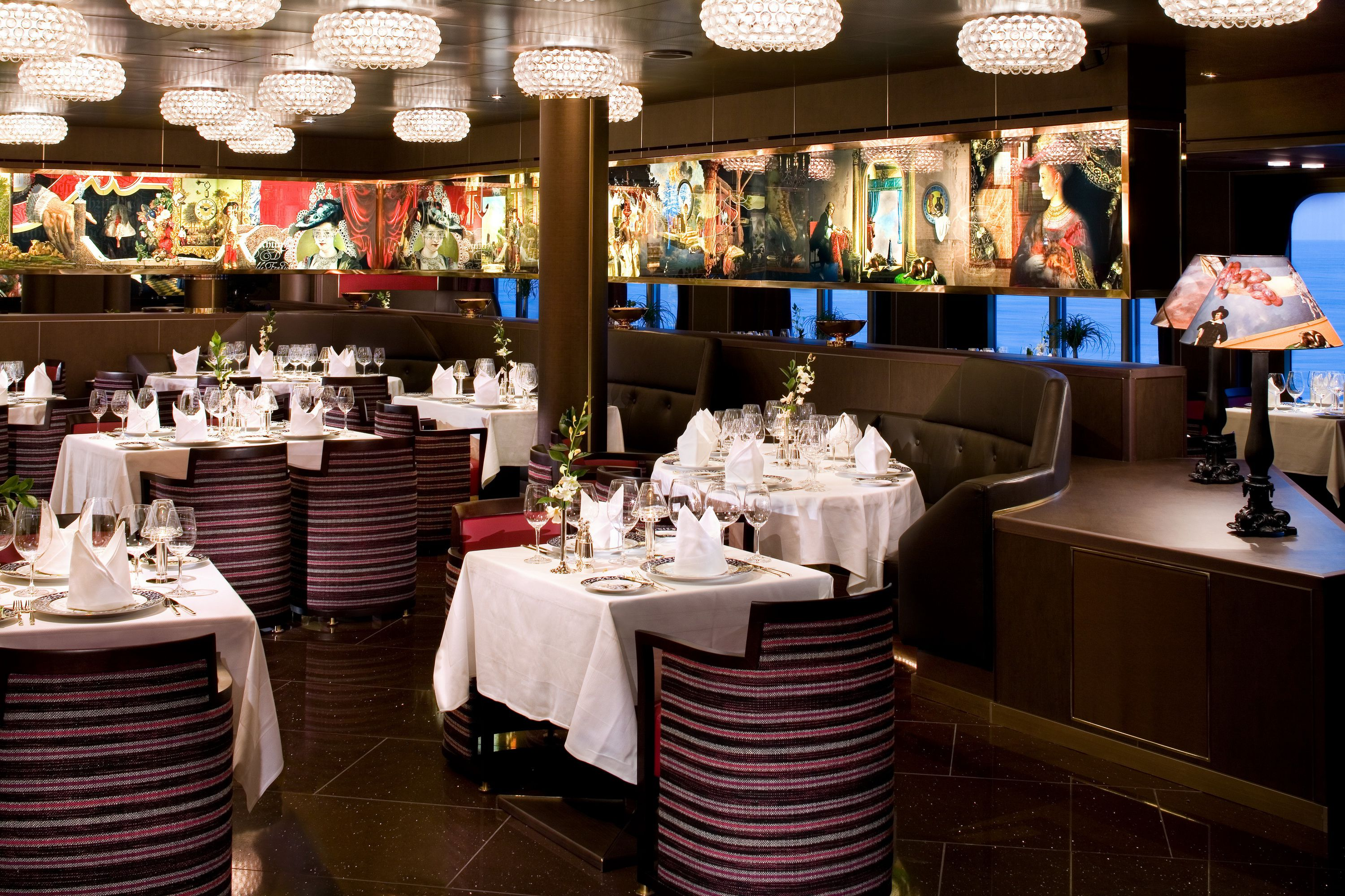 Holland America Line Eurodam Dining And Cuisine - Pinnacle grill