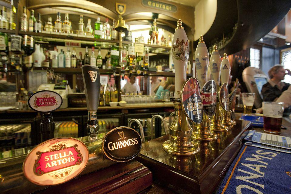 The bar at London's Cockpit pub