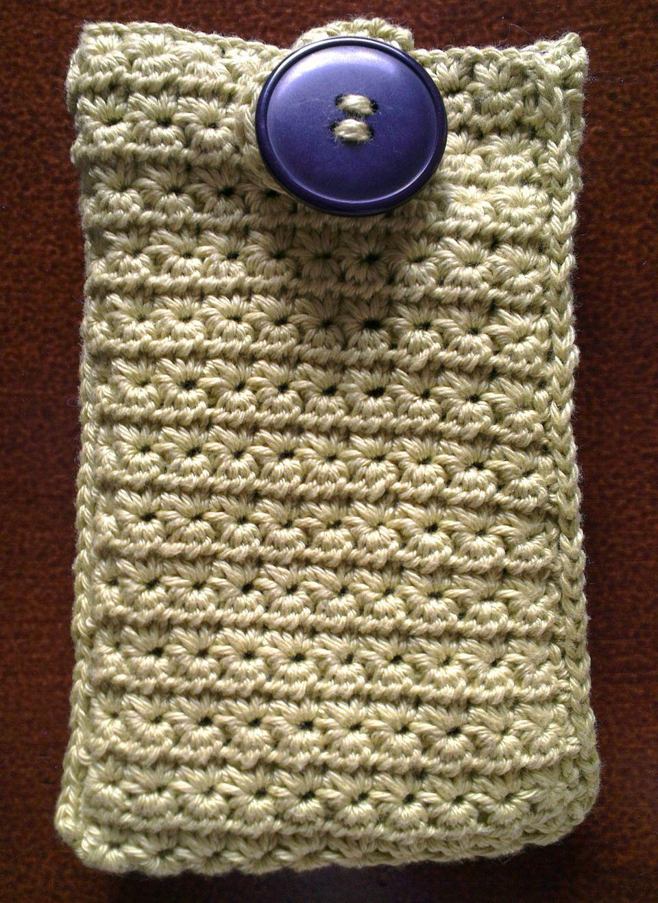 15 fabulous free star stitch crochet patterns star stitch cell phone case free crochet pattern bankloansurffo Image collections