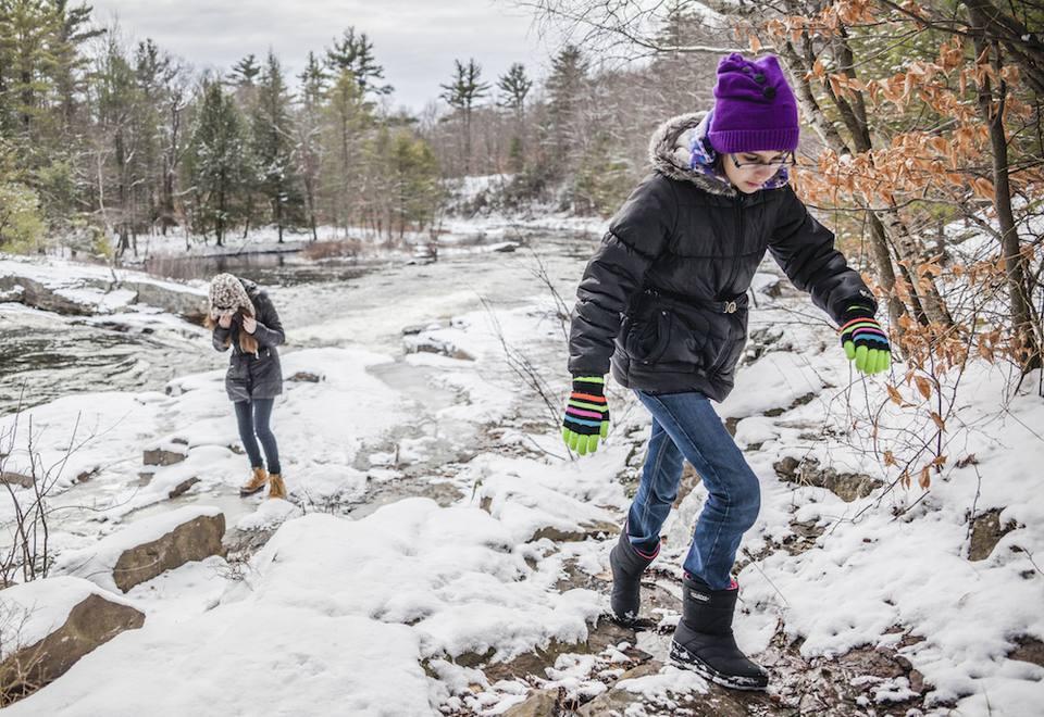 Winter hiking in Pennsylvania