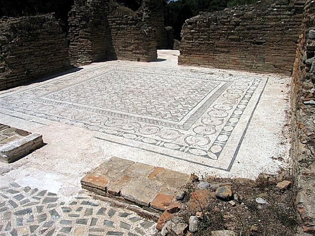 Greek Baths at Olympia
