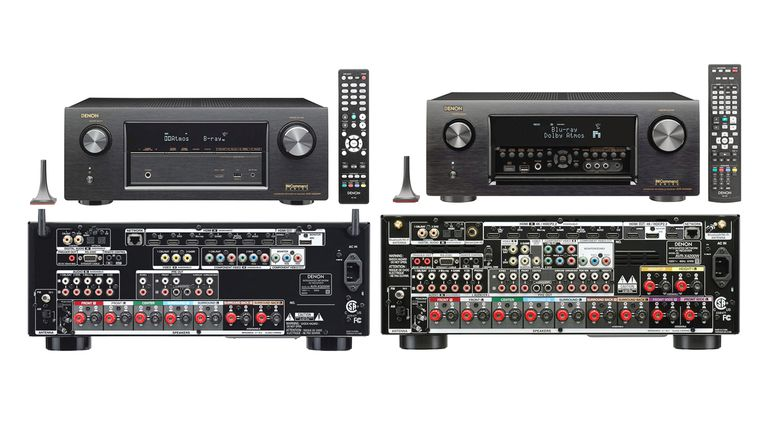 Denon AVR-X3200W and AVR-X4200W Home Theater Receivers