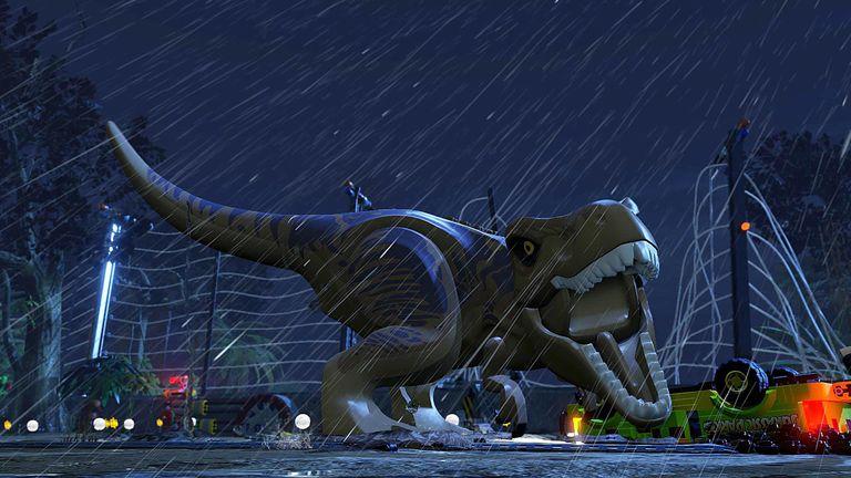 LEGO Jurassic World screen