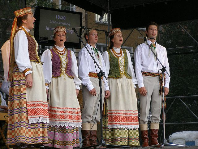 Men's and Women's National Lithuanian Clothing