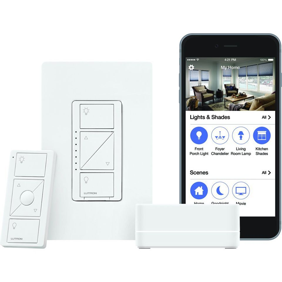 Lutron Caseta Wireless Smart Lighting Starter Kit