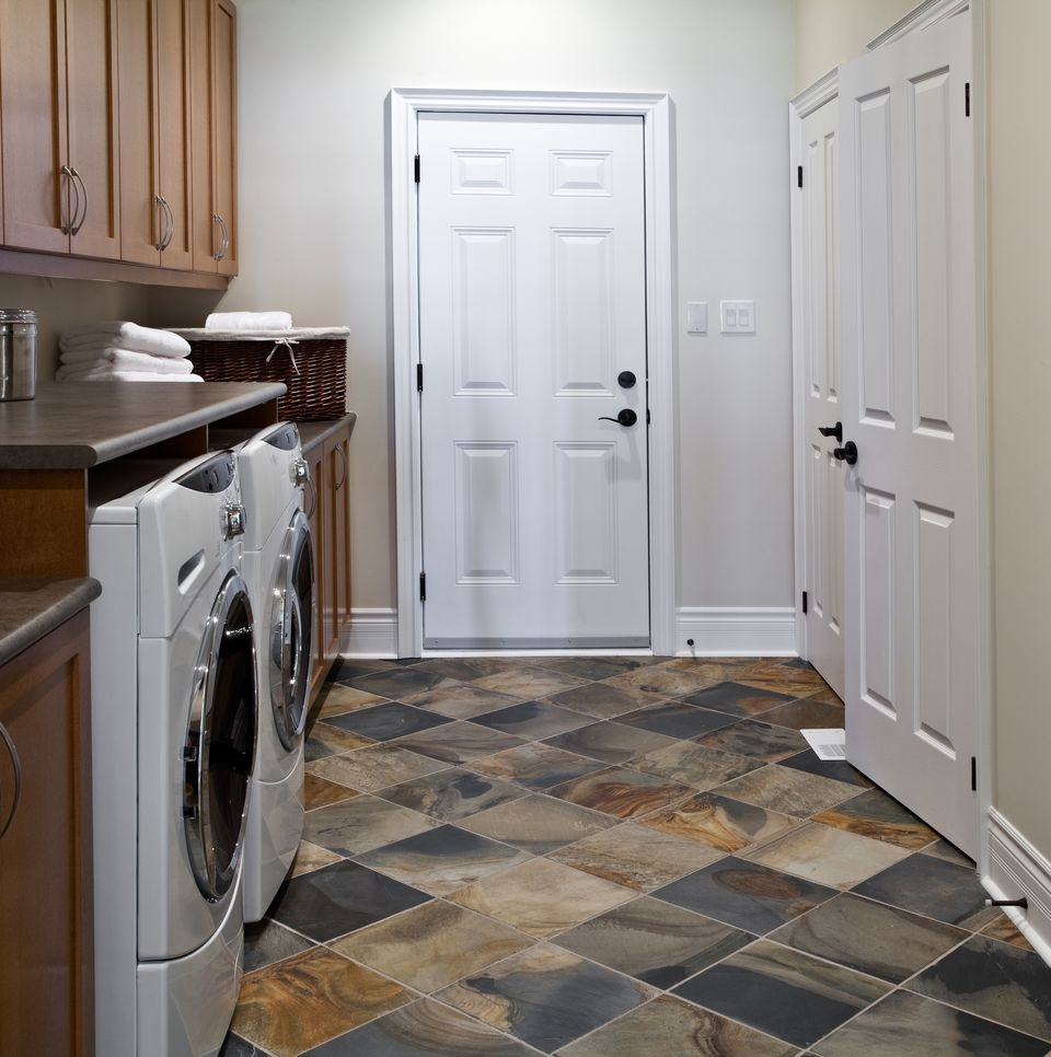 Best Flooring For Basement Laundry Room Kitchen Paint: How To Select Laundry Room Flooring