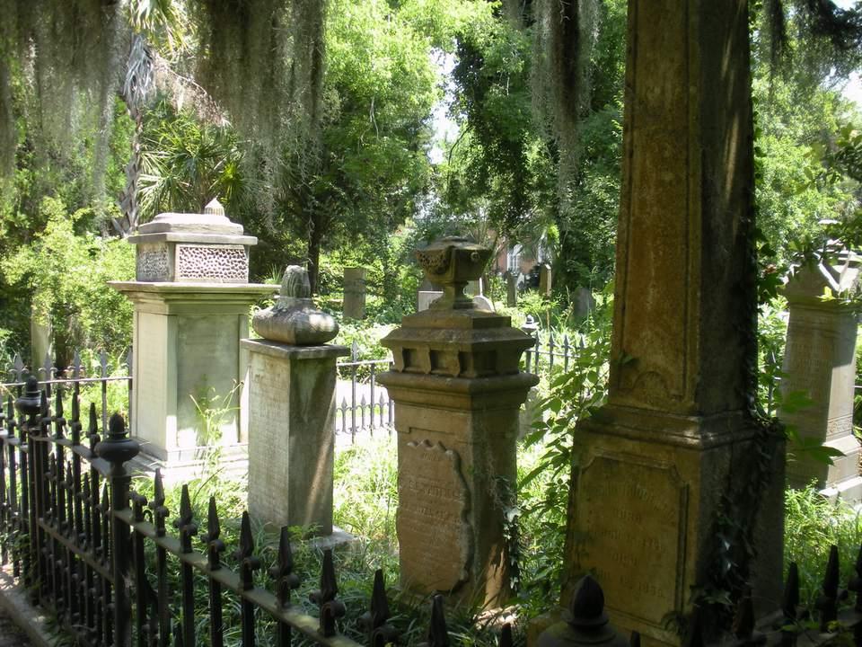 Charleston Graveyard at the Unitarian Church