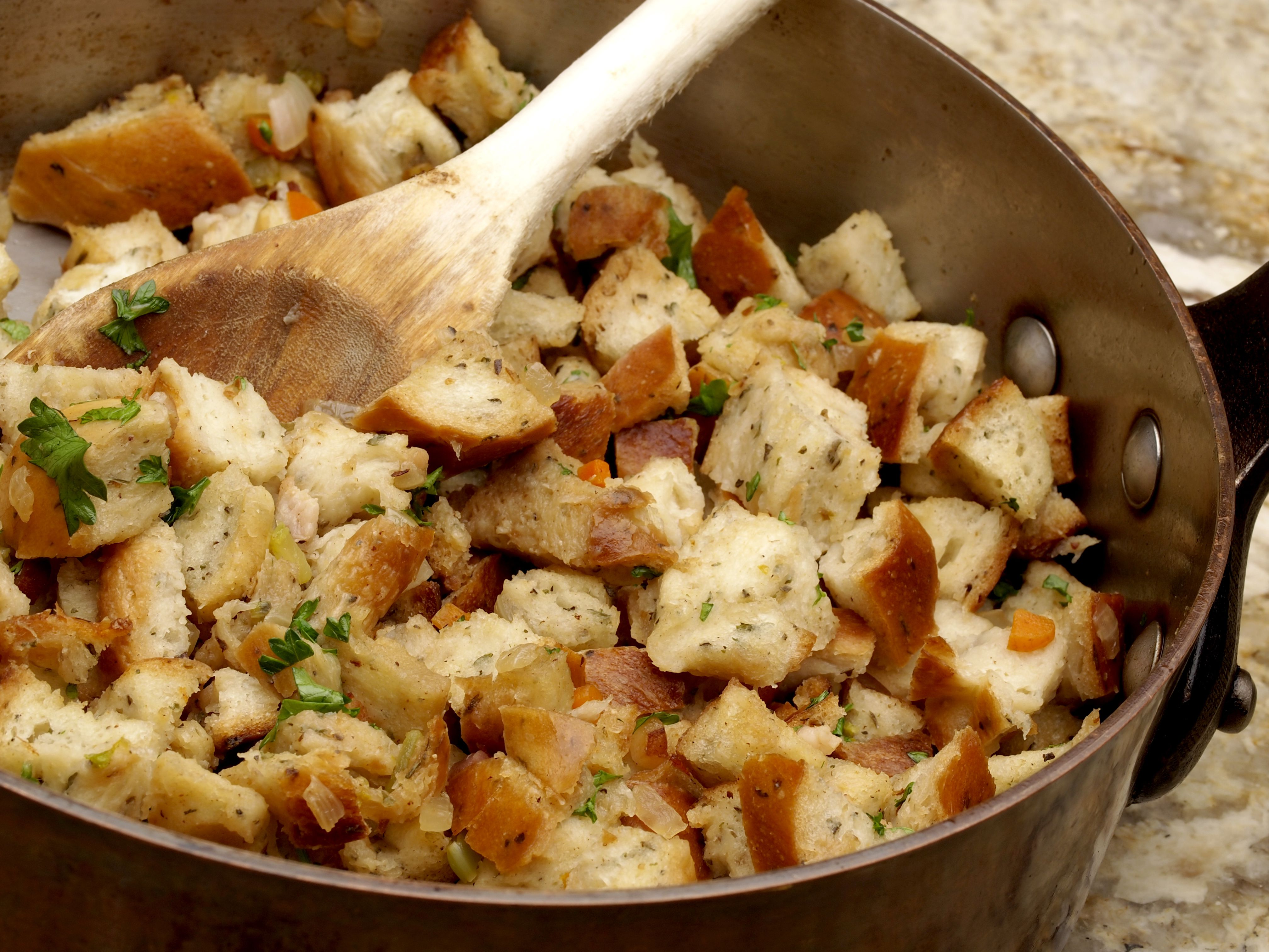 Leftover Turkey Stuffing Casserole Recipe