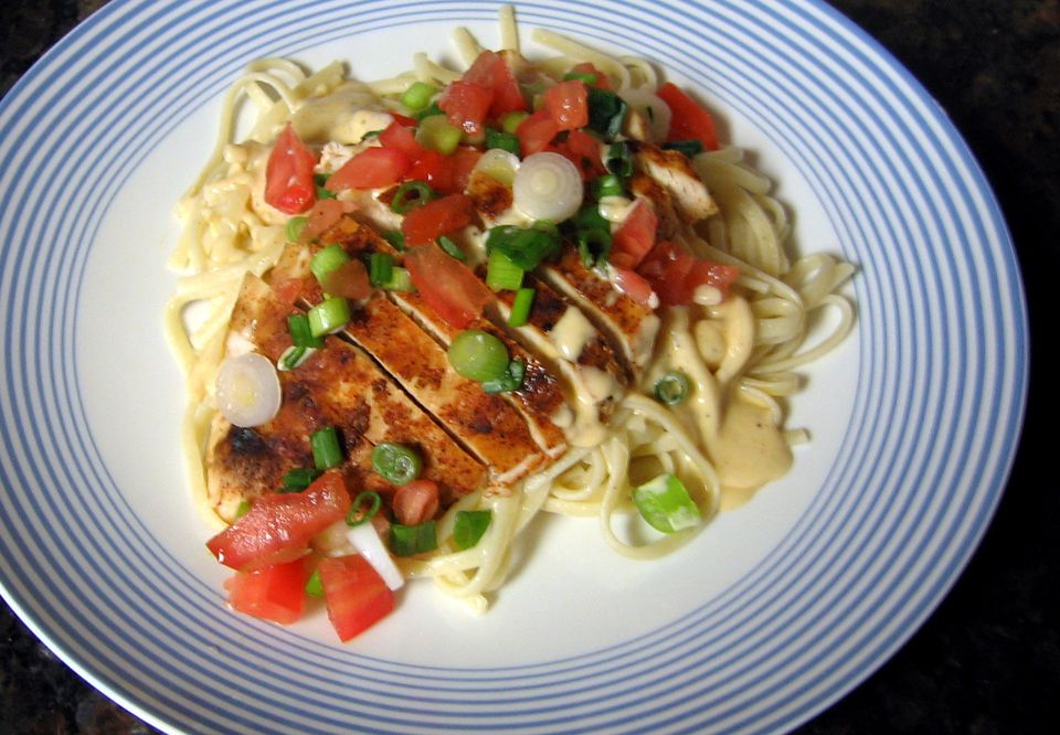 Grilled Chicken With Cajun Cream Sauce