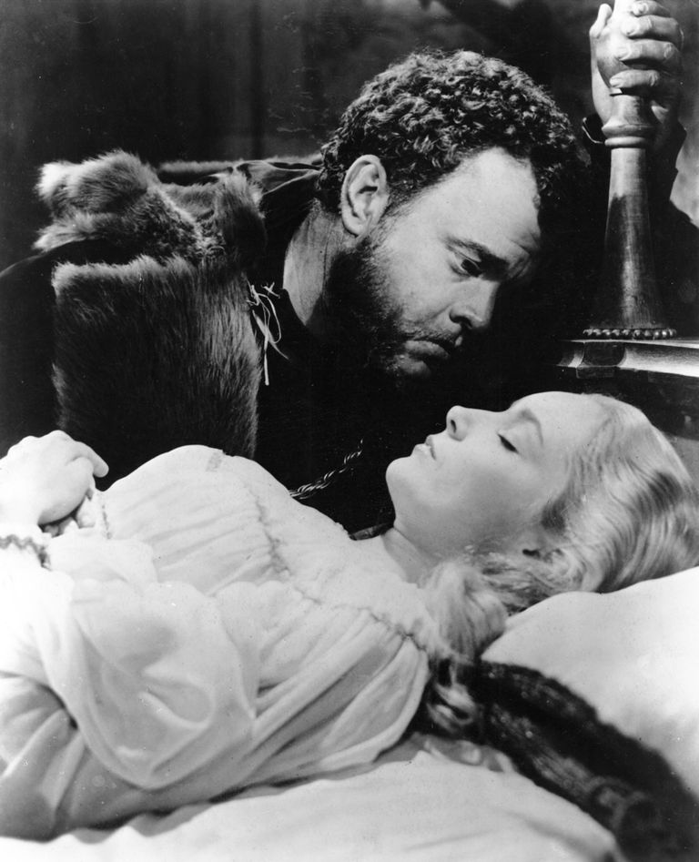 Orson Wells como el Otelo de William Shakespeare