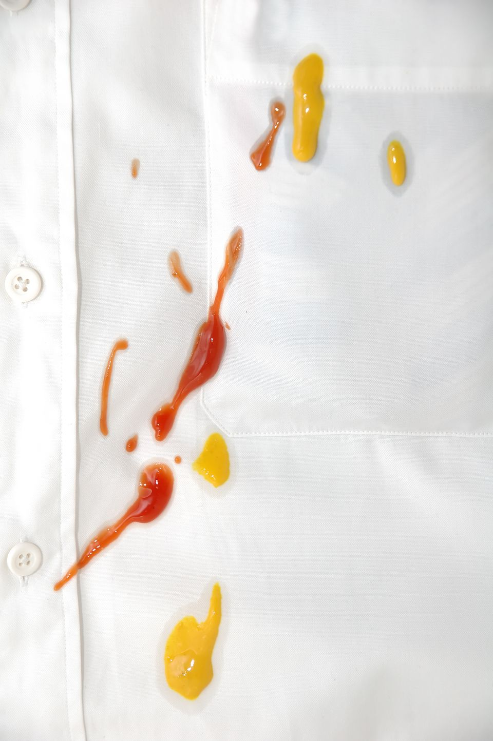 Removing Fresh Mustard Stains: Washable Fibers