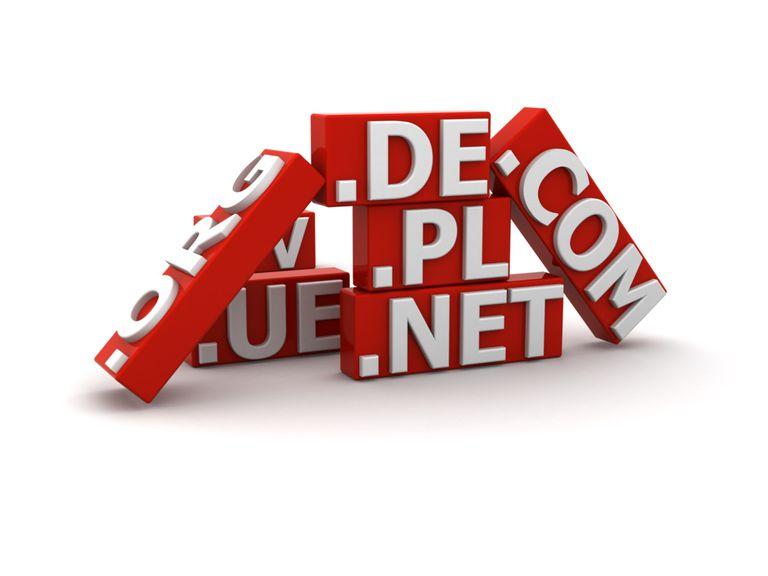 Ejemplos de dominios de Internet