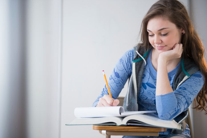 Get your teen to communicate with you by journaling together.