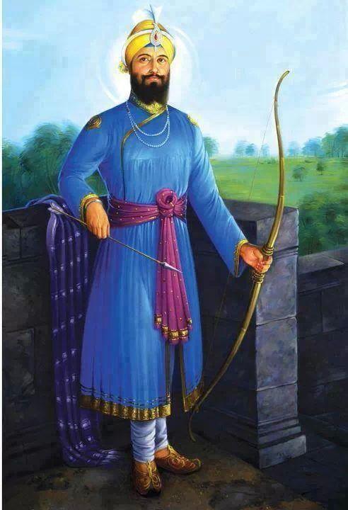 Portrait of Guru Gobind Singh