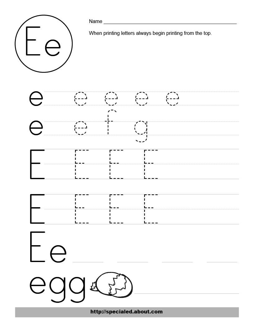 Two Styles of Handwriting Worksheets Letter Writing – Letter Handwriting Worksheets