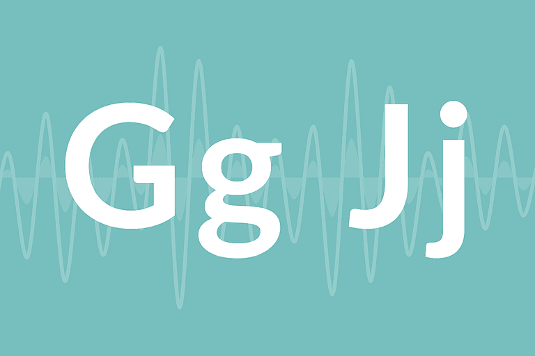 """Letters """"G"""" and """"J"""""""